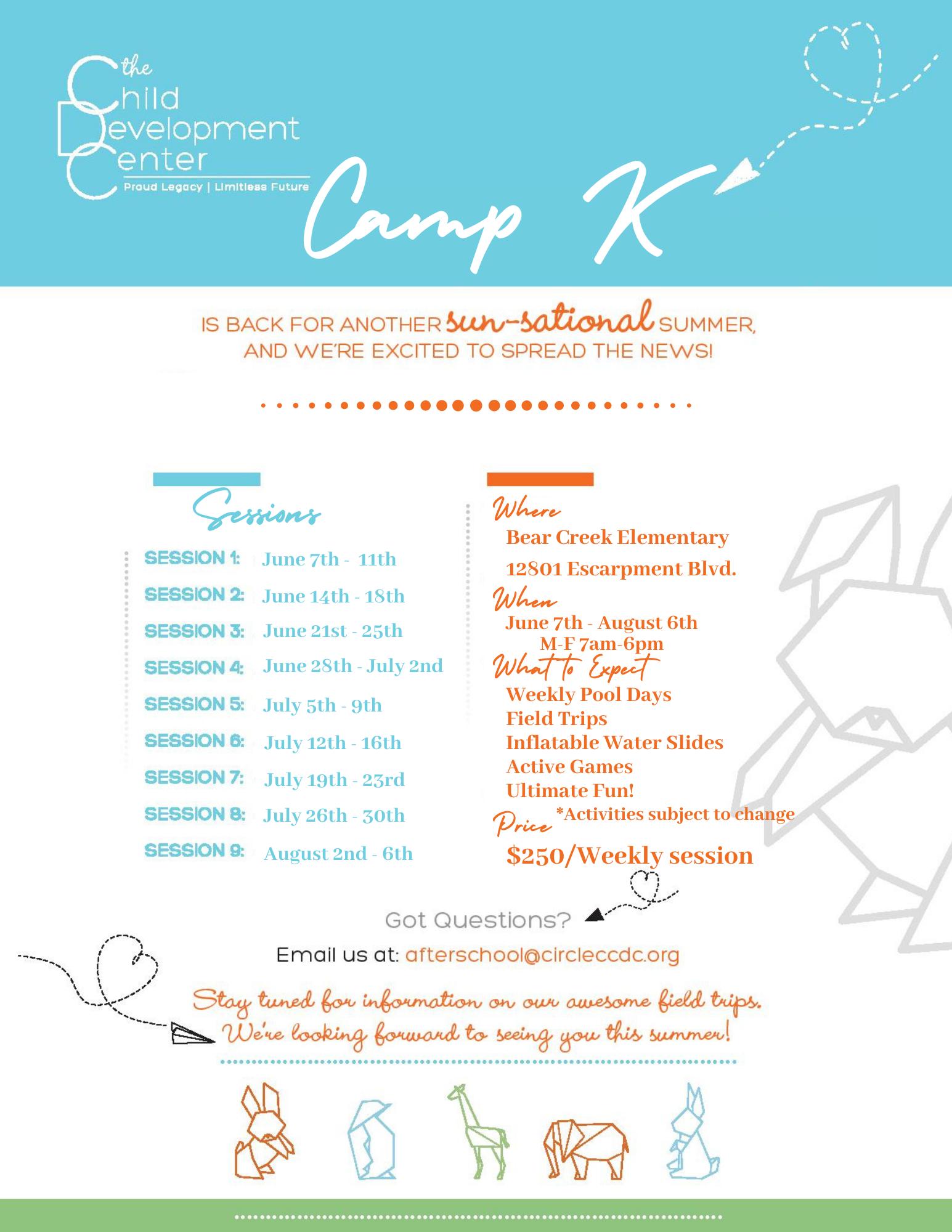 Camp K Flyer