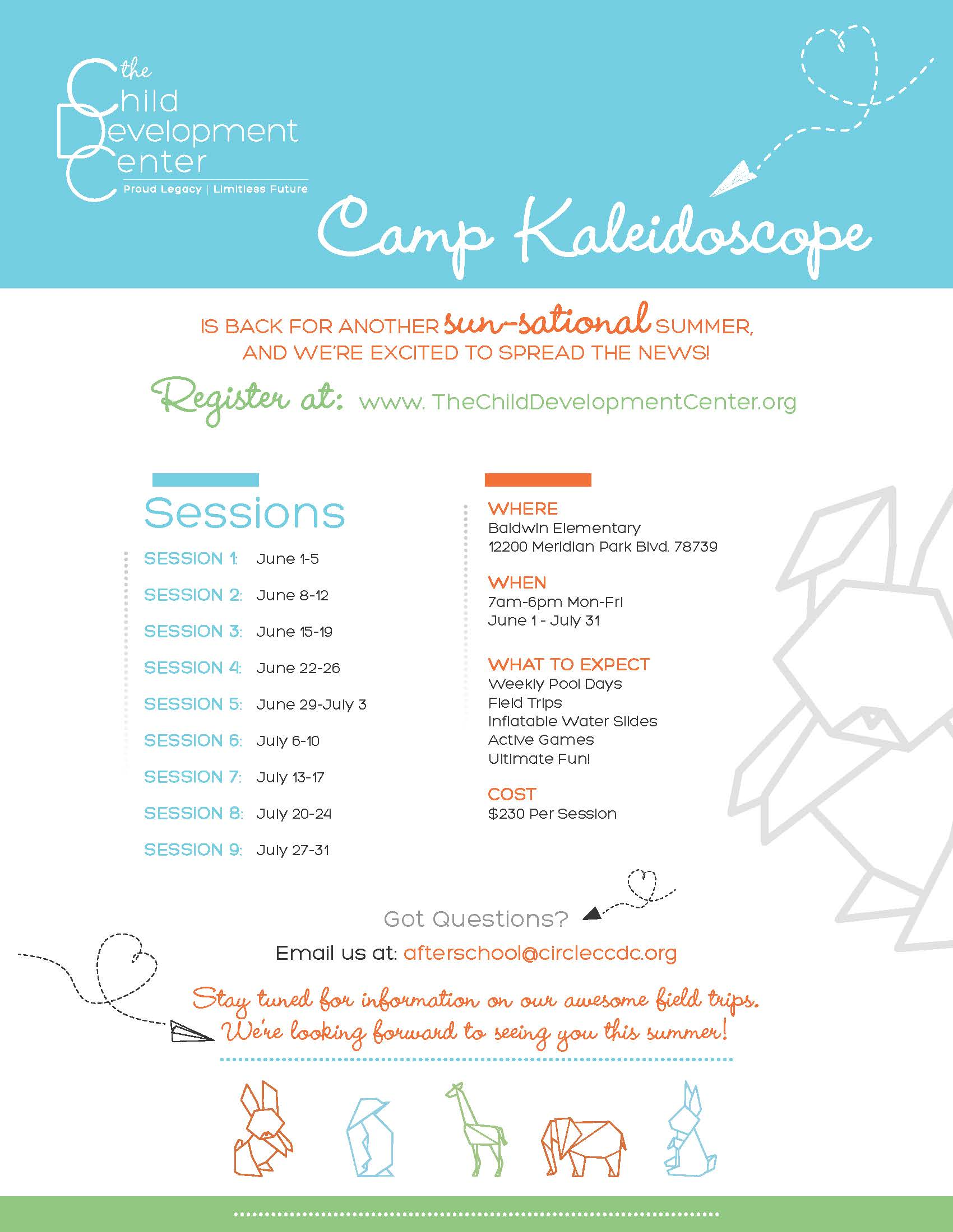 Camp K Flyer 2020