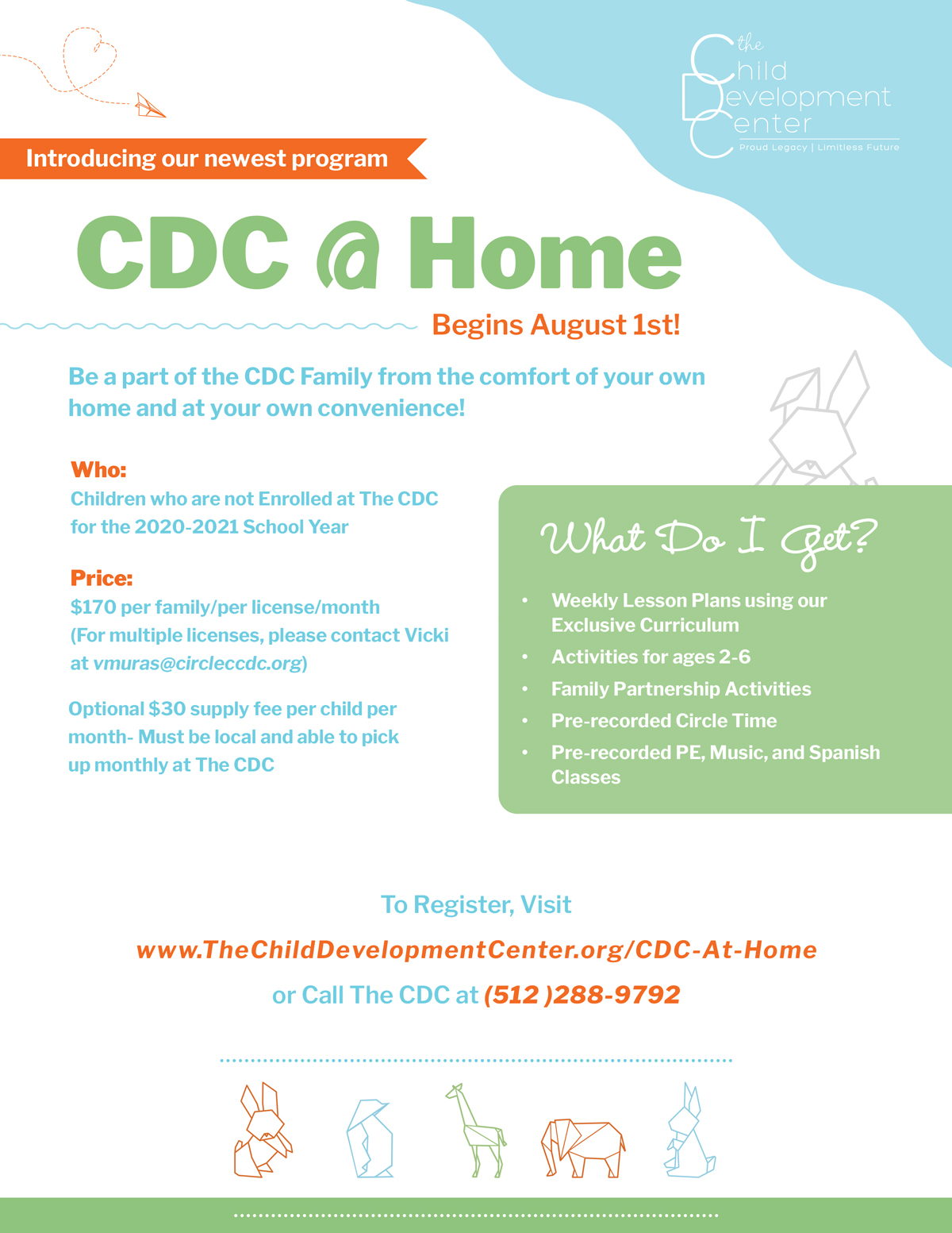 CDC@HOME